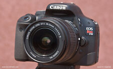 Canon EOS Rebel T2i / 550D 18.0 MP DSLR With 18-55mm IS II (2 LENSES) + Tri-Pad!