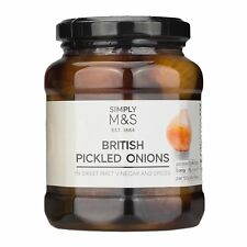 Marks & Spencer M&S British Pickled Onions in Sweet Malt Vinegar and Spices 360g
