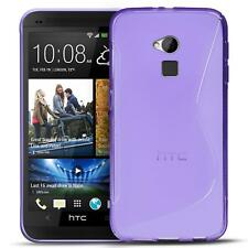 Funda para móvil HTC One Max Cubierta Protectora Silicona BOLSO paragolpes