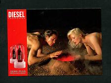 "PK  ""Diesel: Zero Plus""  Werbe Karte  (L-10)"