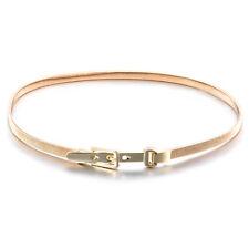 Oro Elegante Per Ragazze Donne Donne Sottile Skinny Cintura in Vita Taglia Unica 100