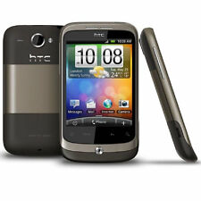 HTC WILDFIRE - Mocha Brown (Unlocked) Smartphone - Fully Working - Grade B