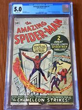Amazing Spider-Man #1 CGC 5.0 Silver Age March 1963 Key Grail Comic Classic!