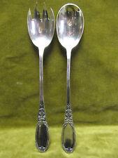 service à salade metal argente LXVI saint médard (salad serving spoons)