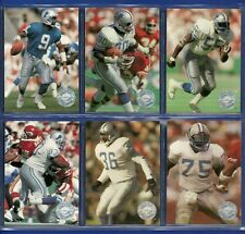 1991 PRO SET PLATINUM DETROIT LIONS TEAM SET (9) PACK FRESH - BARRY SANDERS HOF
