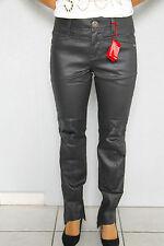 jeans encerado cuero M&F GIRBAUD bota tacón TALLA 30 (40) NUEVO precio tienda