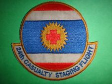 Usaf 24th Casualty Staging Flight From Korat Afb Thai Patch From Vietnam War Era