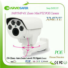 H.265 Starlight  5MP Outdoor IP PTZ POE Network Camera Pan and Tilt 4X Zoom lens