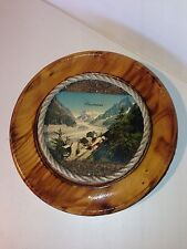Assiette Decorative Souvenir De Chamonix