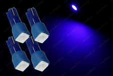 4x T5 286 Wedge LED Blue Dashboard Cluster Speedometer Bulbs Instrument Lights