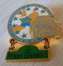 PIN'S RALLYE RONDE CEVENOLE TEAM DIAC MICHELIN RENAULT CLIO WILLIAMS FRANCE 1996