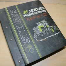 STEIGER SERIES III BEARCAT COUGAR PANTHER Tractor Repair Shop Service Manual