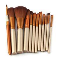 12pcs Professional Makeup Brush Kabuki Brushes Powder Foundation Blusher Sale