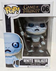 Funko Pop! #06 White Walker Game Of Thrones Edition 1  NIB