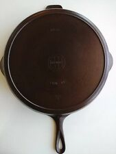 Griswold No.12 Cast Iron Skillet Small Block Logo 719B