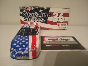 KEN SCHRADER 2001 TEAM CALIBER #36 STARS & STRIPES 9/11 PONTIAC 1/24
