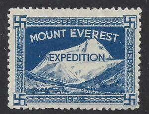 Mount Everest Expedition Tibet 1924