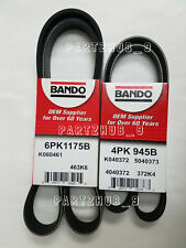 350Z BELT KIT:2003-7-31-2006 (Fits:Nissan) Bando Air Cond/Steering/Alter 2 PC