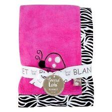 Trend Lab Girls' Fleece Crib Nursery Blankets & Throws