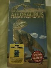 Allosaurus Bbc Vhs New - A Walking With Dinosaure Special