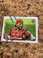 Yadier Molina 2021 Topps Photo Variation Short Print SP #207 St. Louis Cardinals