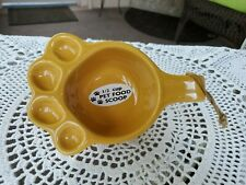 Ganz Ceramic 1/2 Cup Pet Food Scoop Mustard Yellow