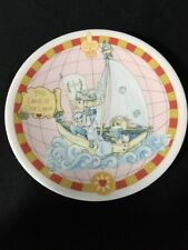 "1992 Precious Moments ""This Land Is Our Land� 500Th Anniversary Mini Plate"