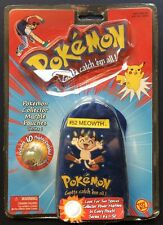 Pokemon Marbles #52 Meowth Pouch 10 Marbles Series 1 New