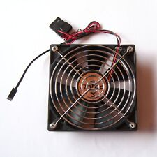1 PCS Antec 3 Speed Black Case Fan Molex Connector 120 mm Fan Guard Cooling F01