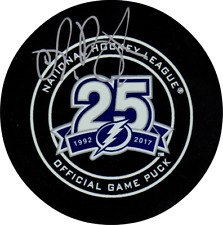 Andrei Vasilevskiy autographed signed Authentic Game Puck Tampa Bay Lightning