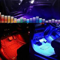 Car Interior Under Dash Floor Atmosphere Lamp RGB Neon Light Strip Accessories