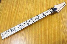 Ibanez RG Style 24 Frets Neck, Tree of life Inlay/Locking Nut, Reverse Headstock