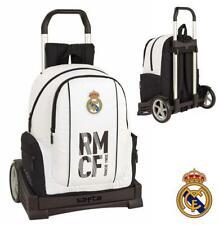 Real Madrid cartable à roulettes trolley L sac à dos 43 cm détachable 319039