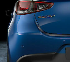 Genuine Mazda 2 2014-2017 4 x Rear Parking Sensors Dynamic Blue  C950-V7-29Y -1K