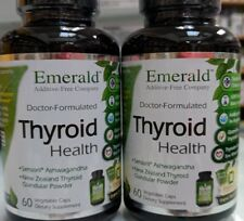 2 BRAND NEW THYROID HEALTH  by Emerald Laboratories