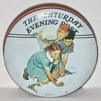 The Saturday Evening Post Marbles Champion by Norman Rockwell Collector Tin.