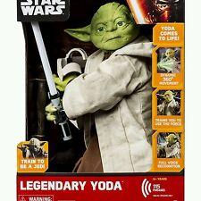 Star Wars Legendary Yoda Jedi Master Trainer Voice Interactive Action Figure