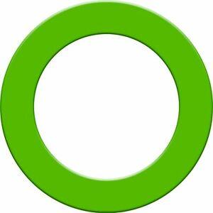 Designa Plain Dartboard Surrounds - Green