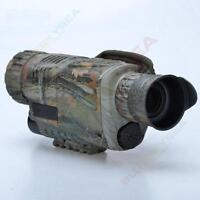 BOBLOV 5x40 Night Vision Monocular 200m Range with Photo Video Storage 8GB DVR