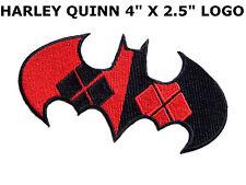 BATMAN Harley Quinn Style Argyle Bat Emblem IRON-ON PATCH DC Comics Joker dc123