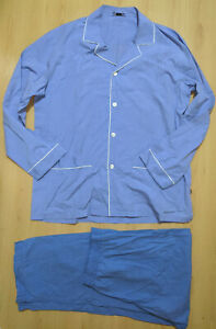 ZIMMERLI Men's Pyjama 100% Cotton size M Switzerland
