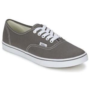 Vans Authentic Lo Pro Unisex Pewter/True Whi Shoes