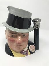 W.C. Fields by Royal Doulton Large Toby Jug D 6674 The Celebrity Collection