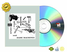 TOOLS AND BASIC MACHINES Book On CD