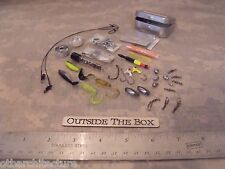 Emergency & Survival MINI Fishing Kit: 72+ pcs w/CASE!   EDC Small Compact Kit!