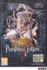 Nintendo WII PANDORA'S TOWER RPG GDR Pal Italiano Raro Nuovo Sigillato New
