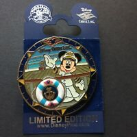 Disney Cruise Line Anchor Captain Mickey Mouse spinner LE 500 Disney Pin 73230