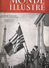 LE MONDE ILLUSTRE 1947 N 4430 L'AMERICAN LEGION A PARIS