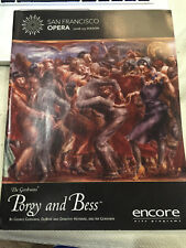 Porgy & Bess San Francisco Opera Program 2008-2009 Season