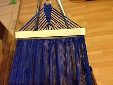 BanMai Hammock 2 Layers 6ft For Folding Stand (Stand Not Included) BLUE COLOR